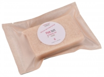 Handmade scented soap with Himalaya salt, 100 g Fair Trade - Pink..