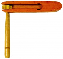 Wooden musical instrument, music percussion rhythm sound instrume..