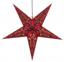 Foldable Advent Starlight Paper Star, Christmas Star Menor - bord..