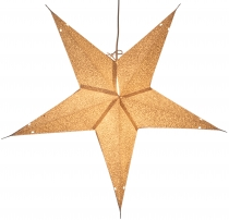 Foldable Advent Starlight Paper Star, Christmas Star 60 cm - Abac..