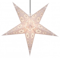 Foldable Advent light paper star, Christmas star 60 cm - Adonis w..