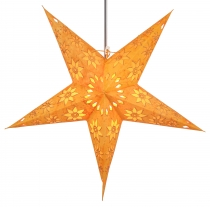 Foldable Advent light paper star, Christmas star 60 cm - Adonis y..