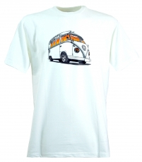 Fun T-Shirt `Bussi` - white