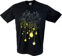 Fun T-Shirt `Big City` - black