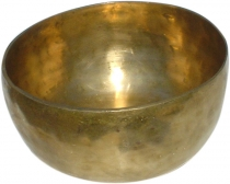 Handmade brass singing bowl from India - 23 cm