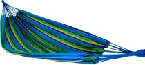 Outdoor hammock, 200x150 cm, 1-2 persons - blue yellow green