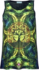 Psytrance Tank Top, Men Top - Tree of Life