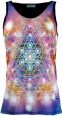 Psytrance Tank Top, Men Top - Life Pyramid