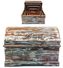 Treasure chest, jewelry box spiral in 5 sizes