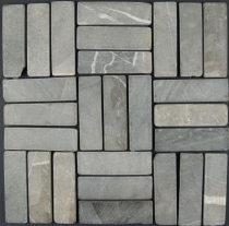 Stick mosaic marble tiles (P-06) - Design 10