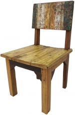 Recycled teak chair - Model 3