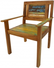 Recycled teak chair - Model 15