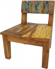 Recycled teak chair - Model 4