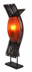 Floor lamp/floor lamp, exotic lamp made of natural material - Kok..